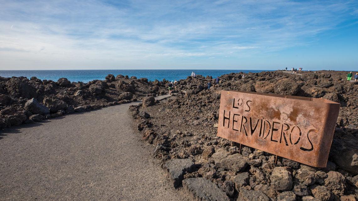 El Golfo and Los Hervideros, Lanzarote - Canary Islands