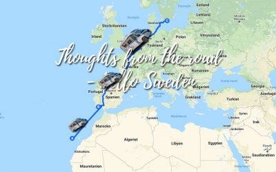 Thoughts from the road – Hello Sweden!