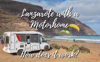 Motorhome in Lanzarote
