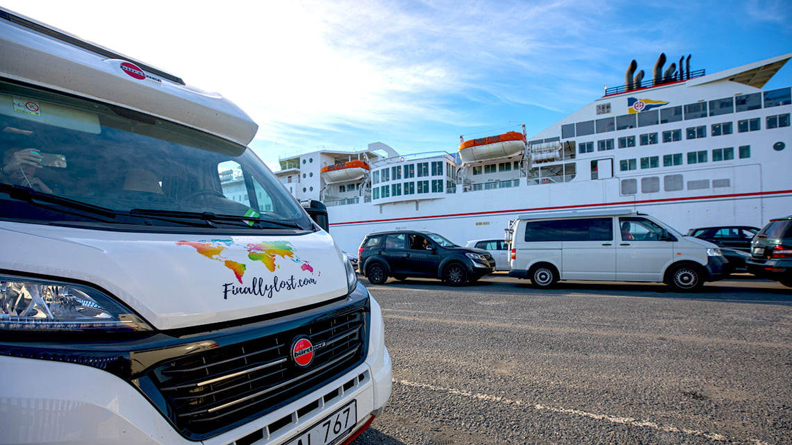Taking the motorhome to Lanzarote