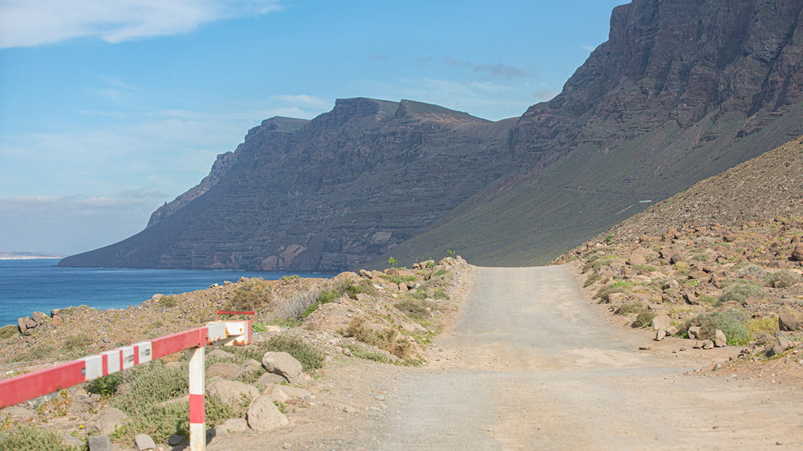 The Road in Lanzarote