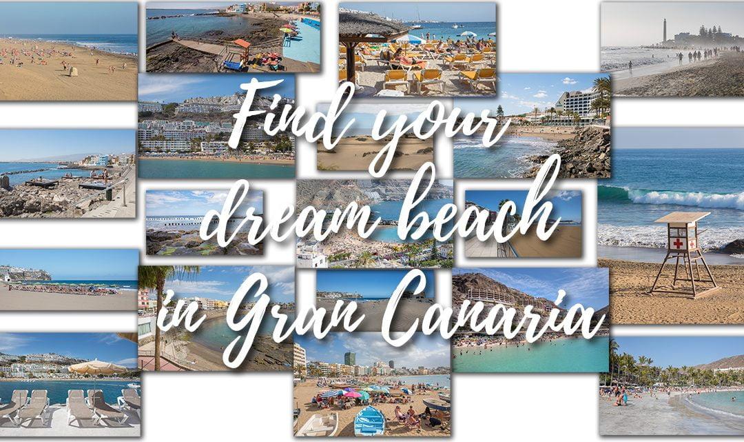 Find your dream beach in Gran Canaria