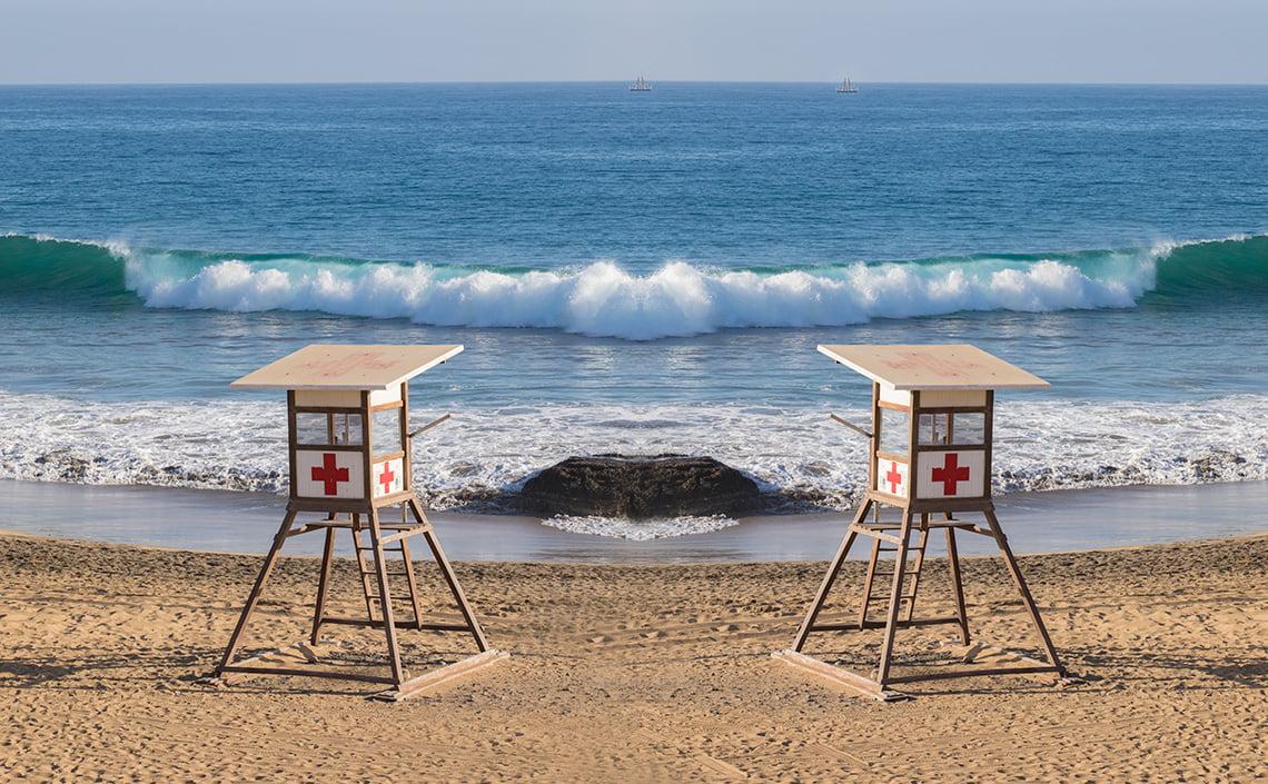 dream beach in Gran Canaria