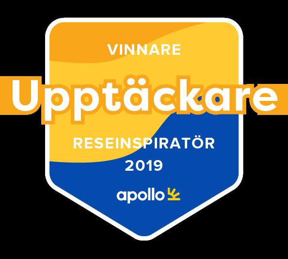 Årets Upptäckare 2019 emblem