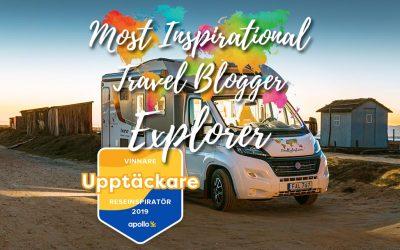 Most inspirational travel blogger – Explorer