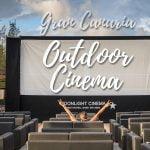 Outdoor cinema in Gran Canaria