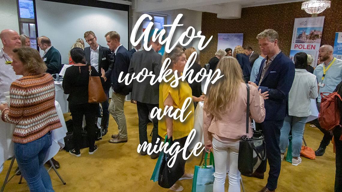 Antor workshop and mingle