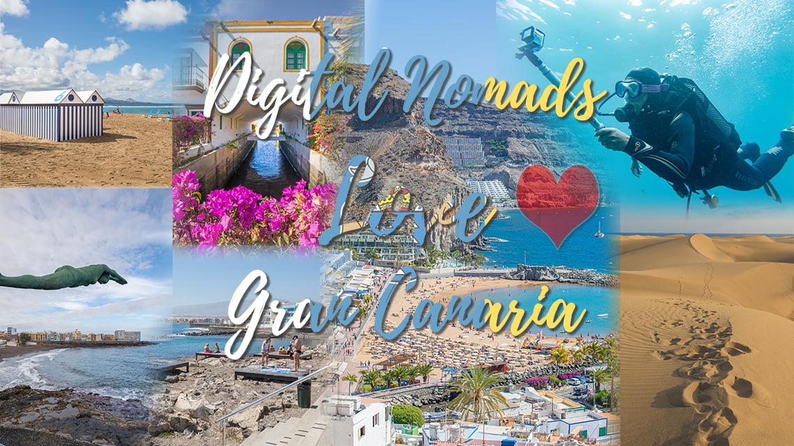 Digital Nomads love Gran Canaria