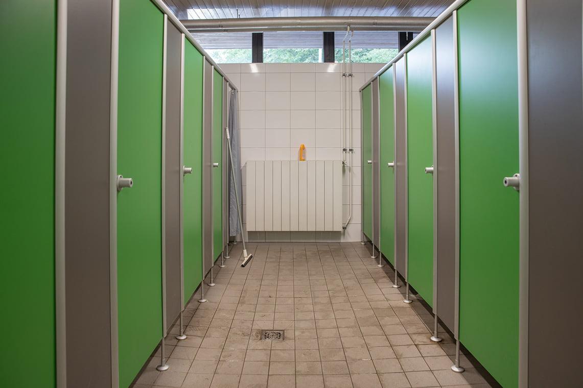 Knaus Campingpark showers