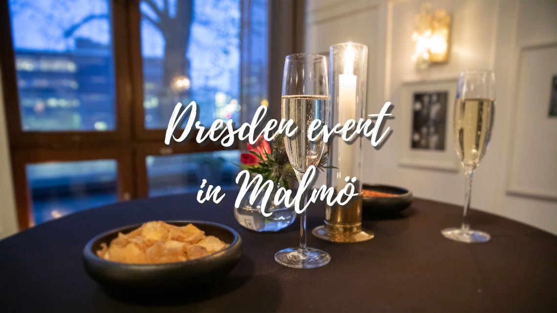 Dresden event in Malmö