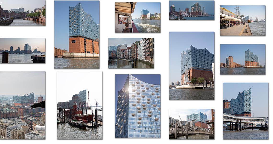 Elbphilharmonie Collage