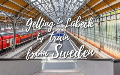 Getting to Lubeck by train from Sweden
