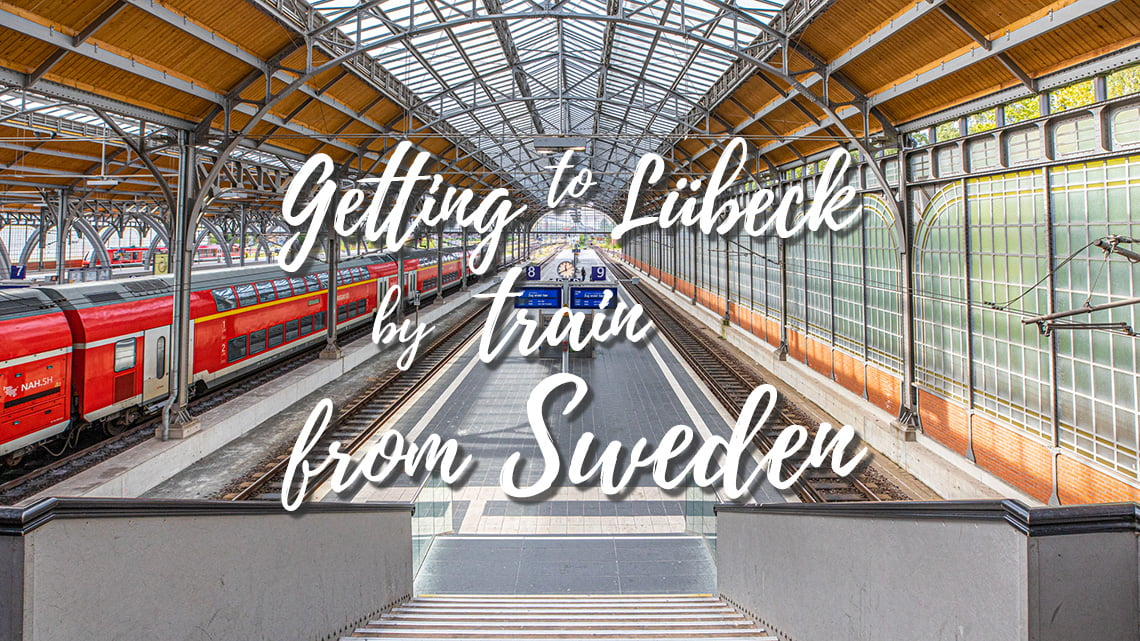 Train station in Lubeck