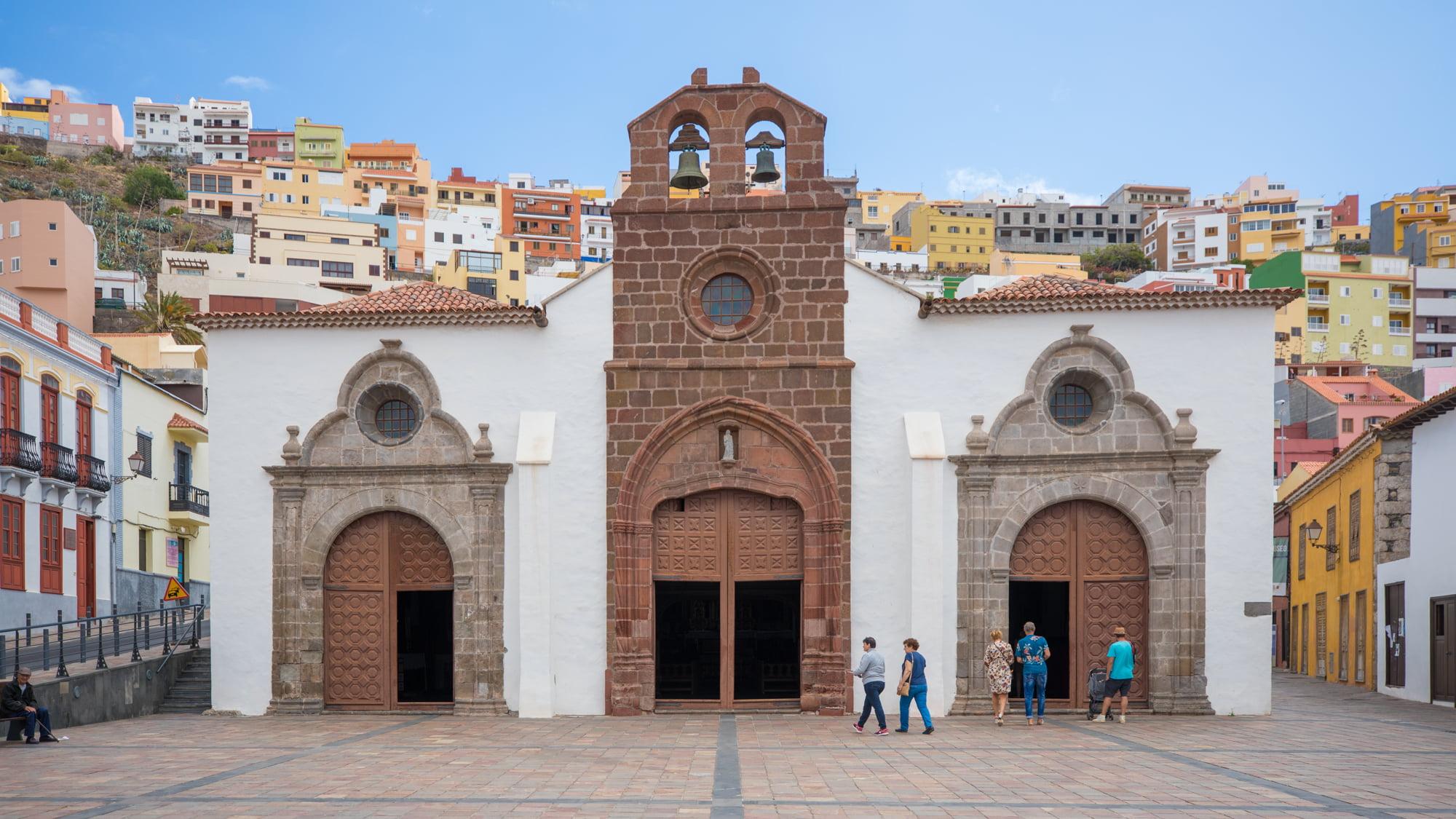 La Iglesia de la Asuncion de San Sebastian de La Gomera