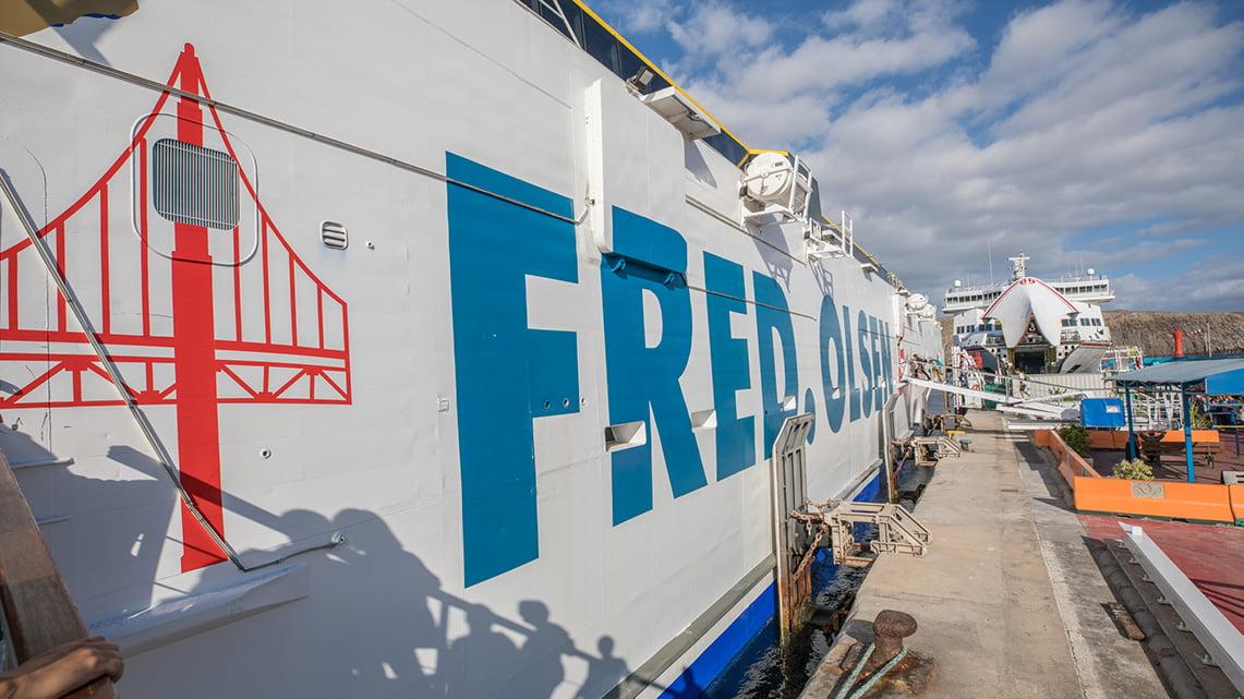 Fred Olsen from Tenerife to La Gomera