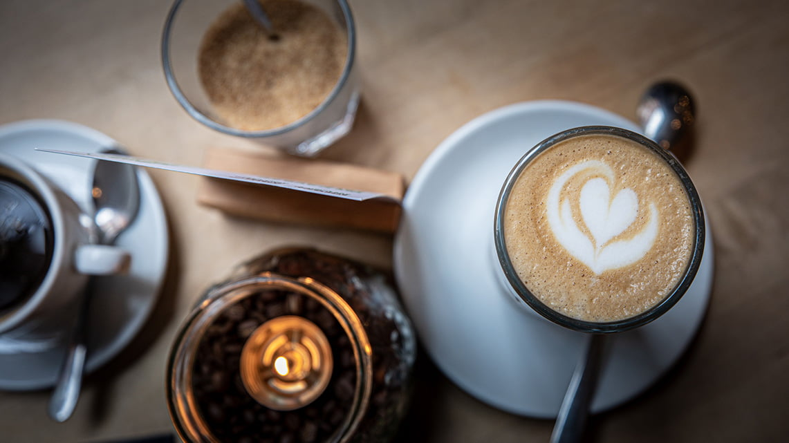 Neue Rosterei great coffee