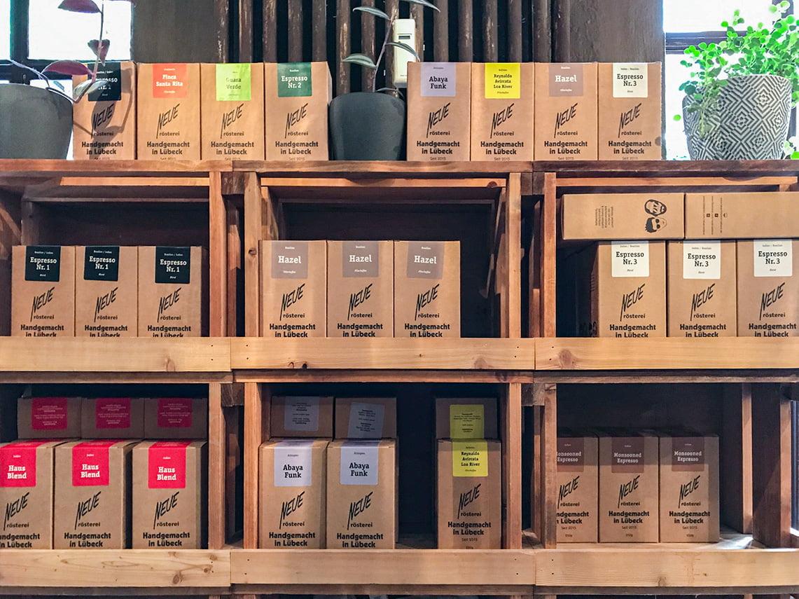 Coffee at Neue Rosterei