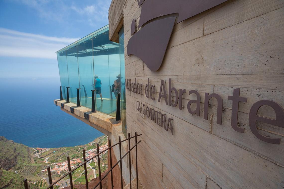 Mirador de Abrante in Agulo - the restaurant