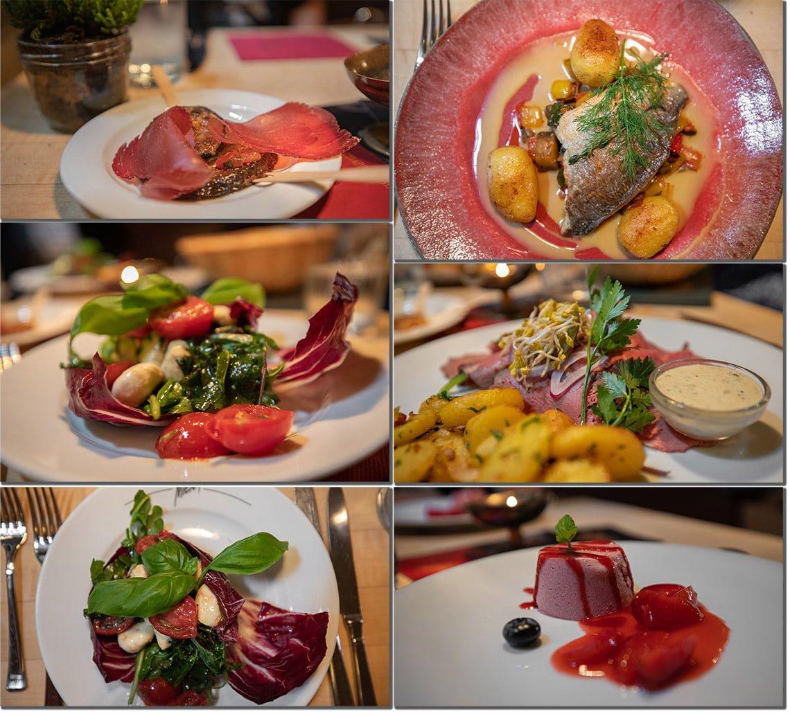 Restaurant Miera food