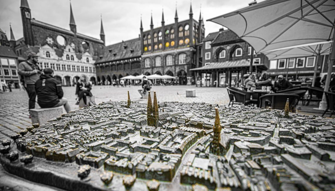 Lubeck is an old Hansa city - a leading one