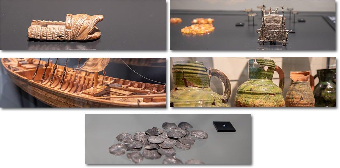 Things to find inside European Hansemuseum in Lubeck.