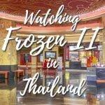 Frozen II in Thailand