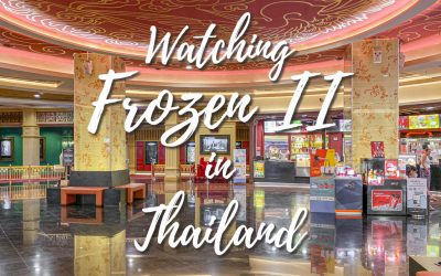Frozen II in a priority seating in Patong, Thailand
