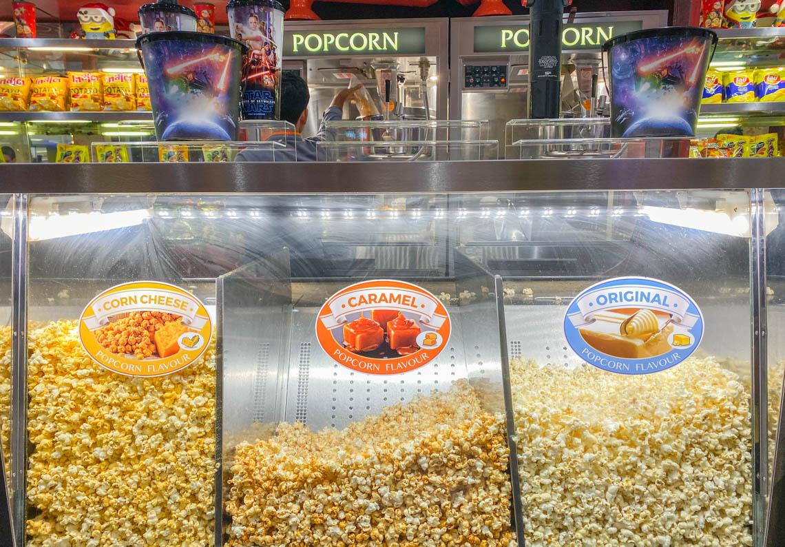 Popcorn at the cinema