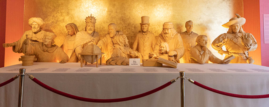 Niederegger marzipan museum is a Guinness world record holder