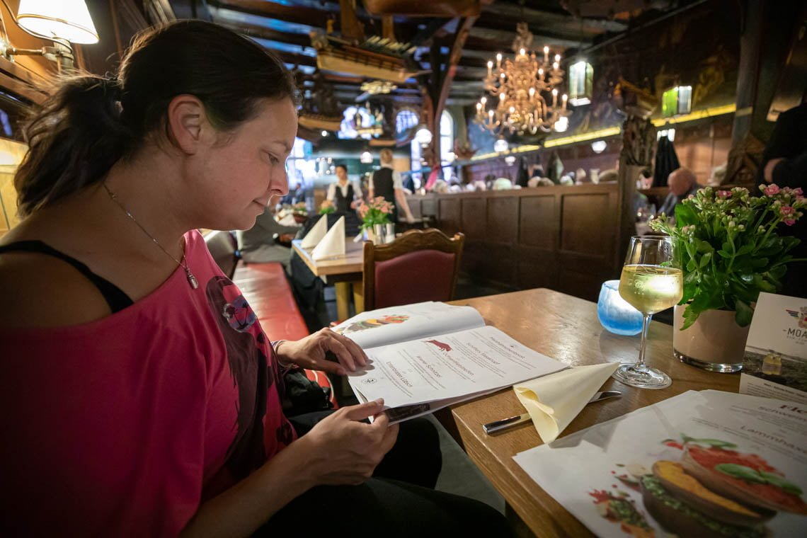 Our visit to the Restaurant Schiffergesellschaft