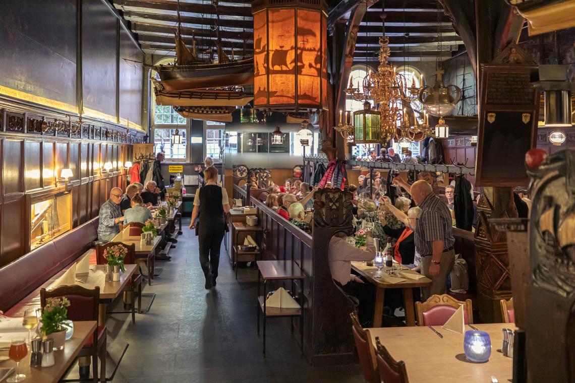 The interior at Restaurant Schiffergesellschaft