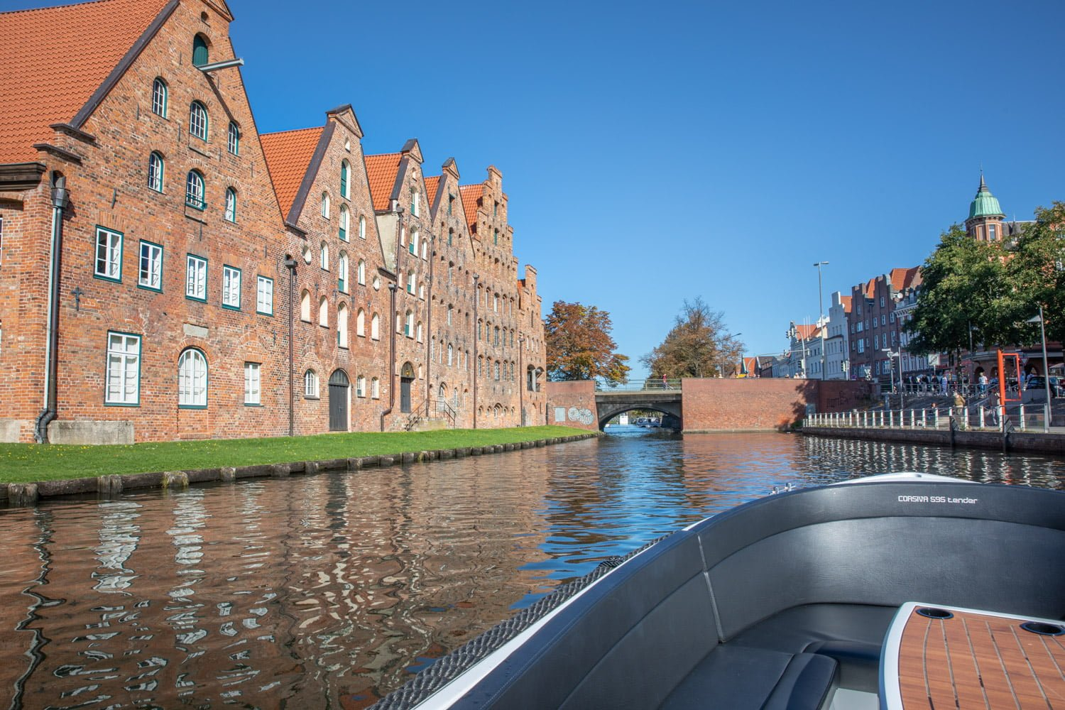 The houses are beutiful in Lubeck