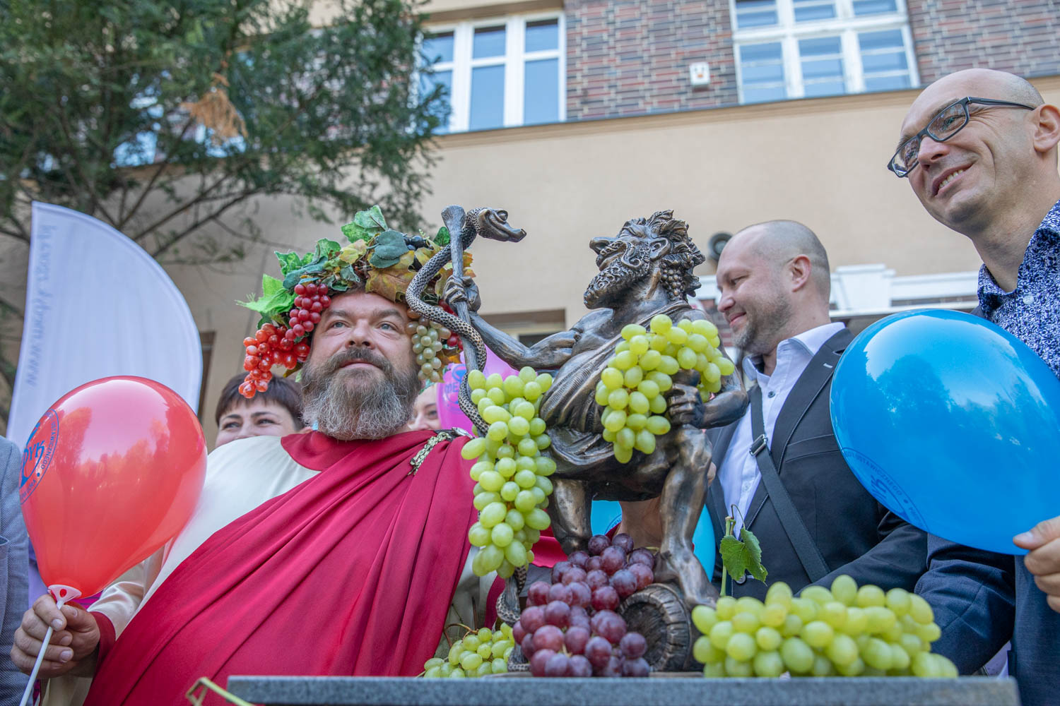 The revealing of a new Bacchus Gnome