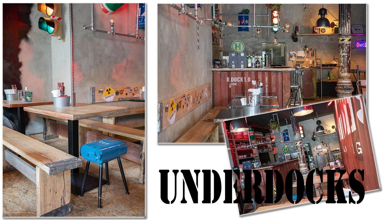 Underdocks restaurant Hamburg