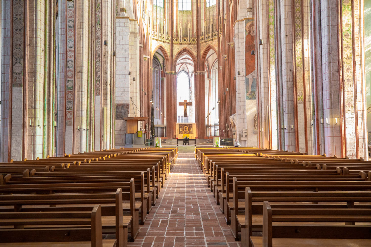 Visit the churches of Lubeck