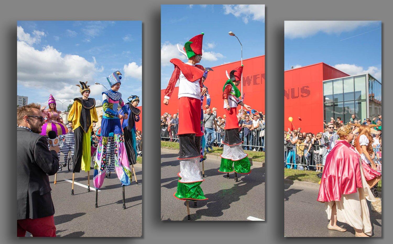 The Parade Korowod Winobraniowy Wine festival in Poland