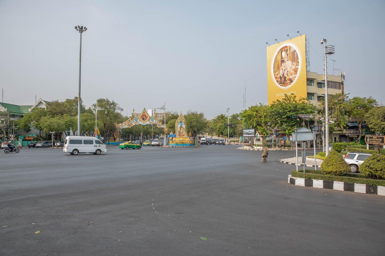 Bankok empty of people