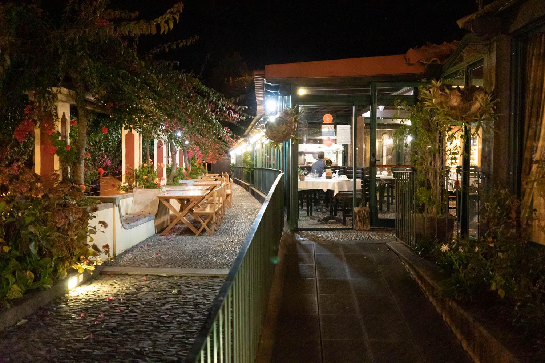 Restaurants in Madeira at Adega da Quinta