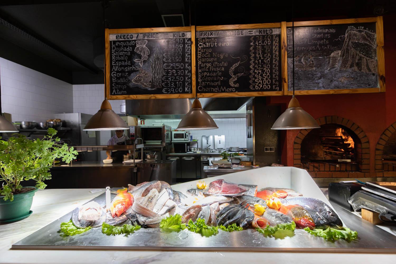 Restaurants in Madeira. Restaurant Vila do Peixe