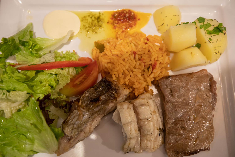 scabbard, grouper, and tuna