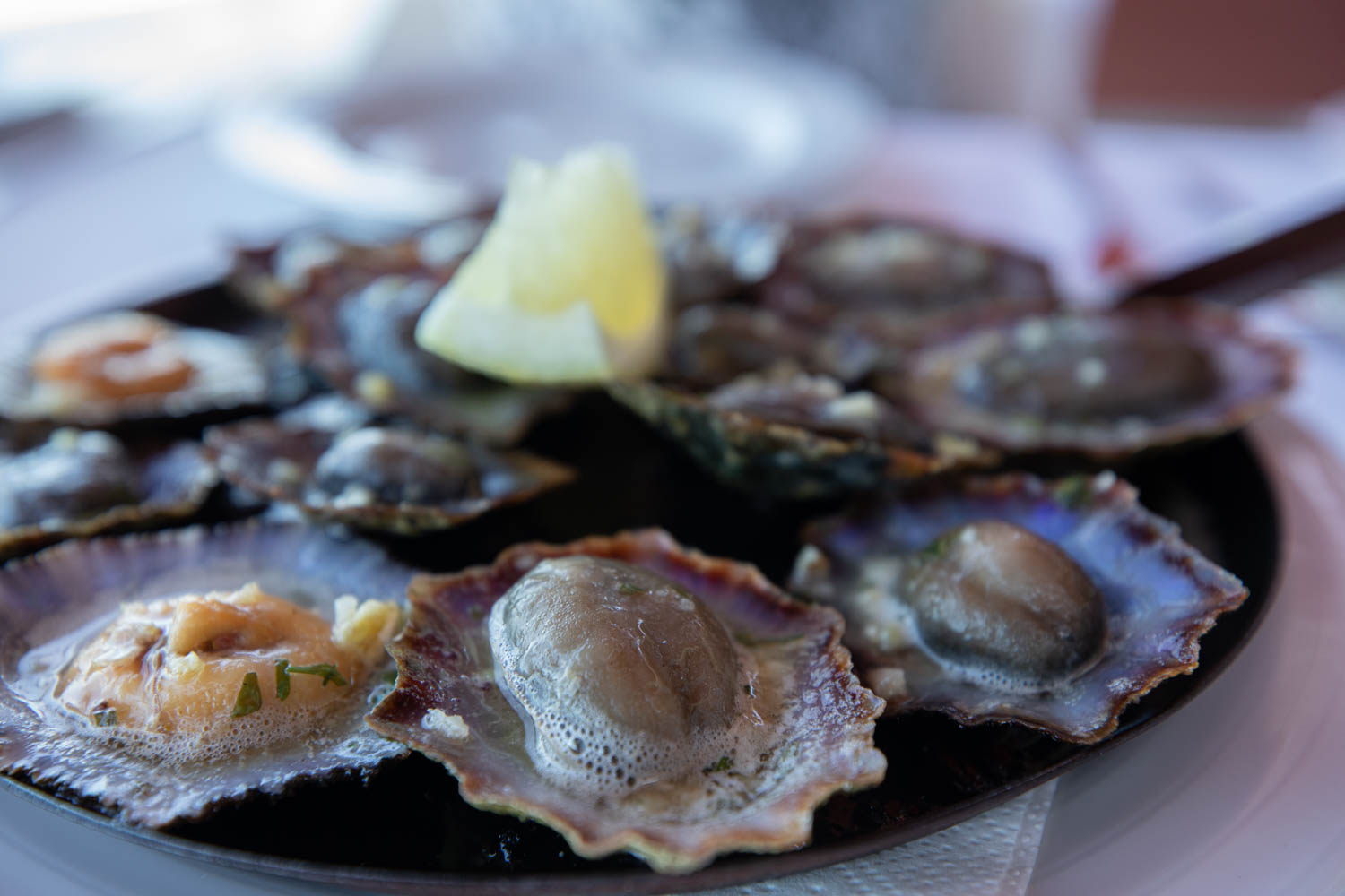 Lapas at a Restaurants in Madeira