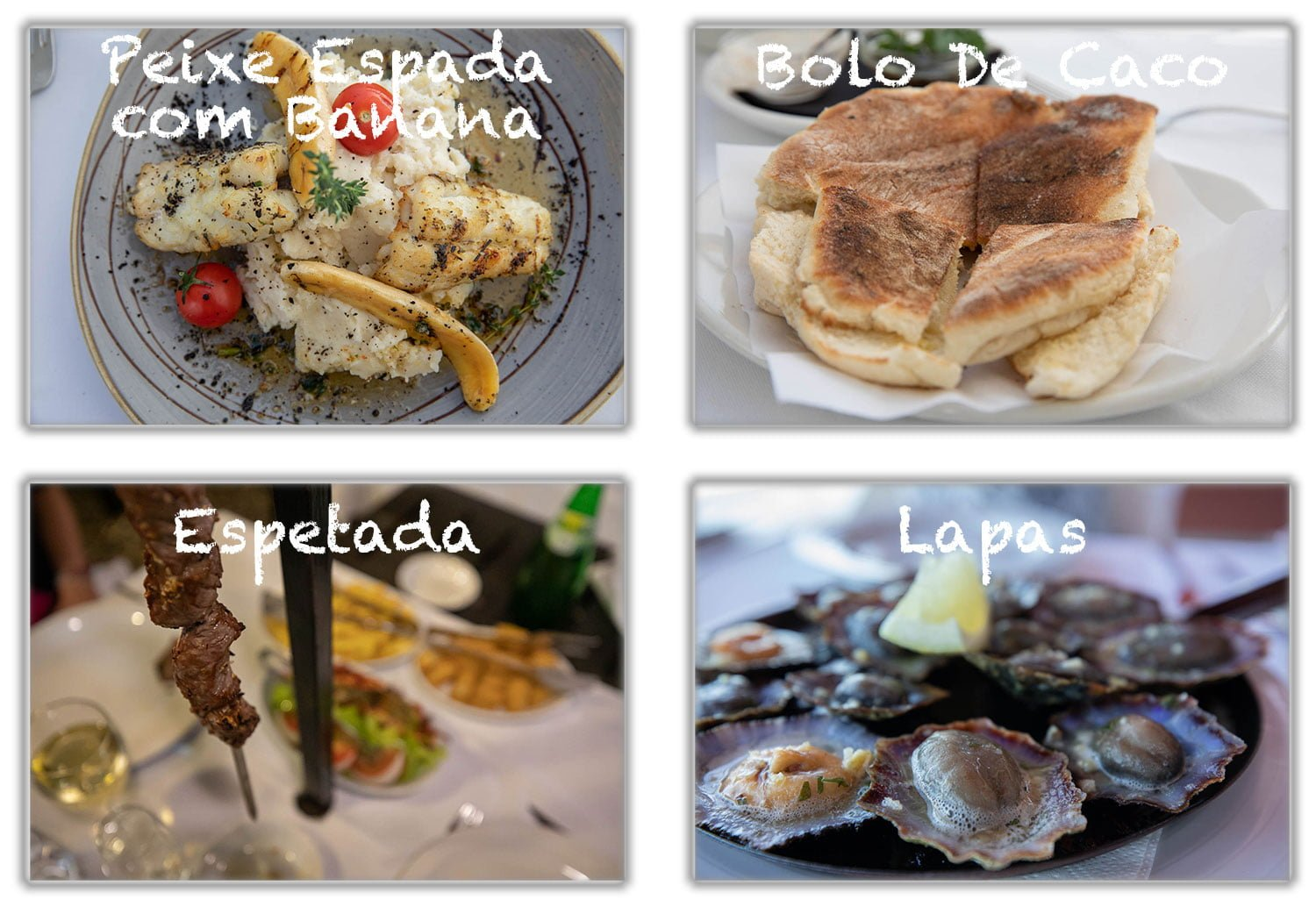Typical food for Madeira