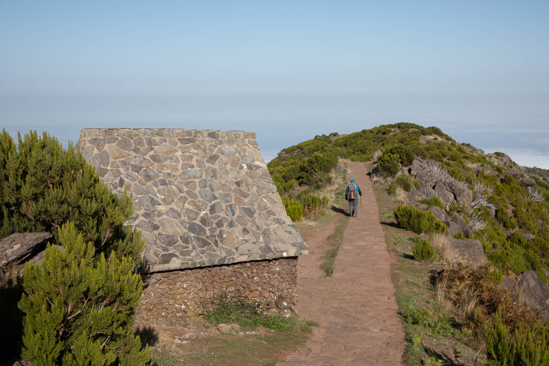 Different ways of doing the peak to peak walk