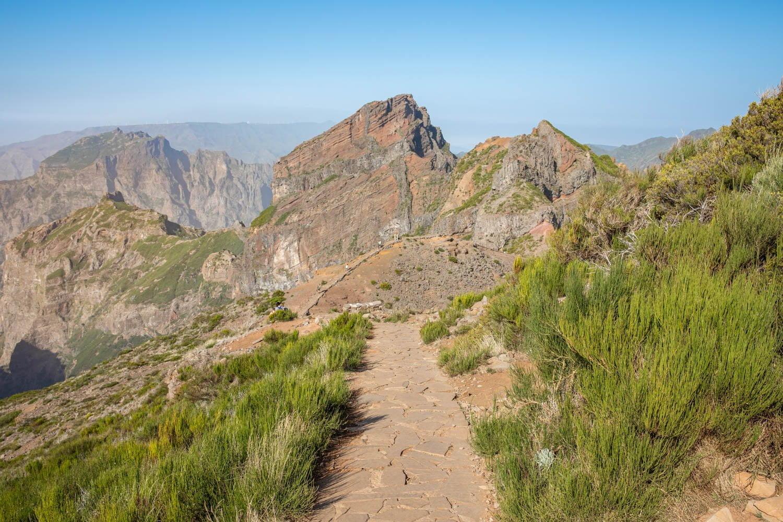 The start of the peak to peak walk