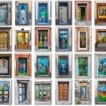 Old Town Funchal doors
