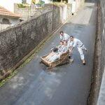 Sleigh ride in Funchal Madeira - A toboggan ride to remeber