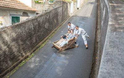 Sleigh ride in Funchal Madeira – A toboggan ride to remeber