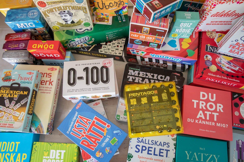 Swedish board games