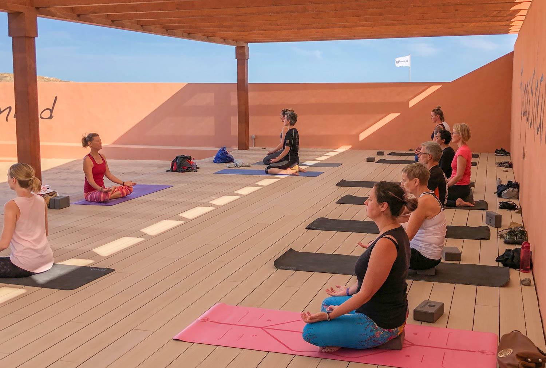 Taking up Yoga again