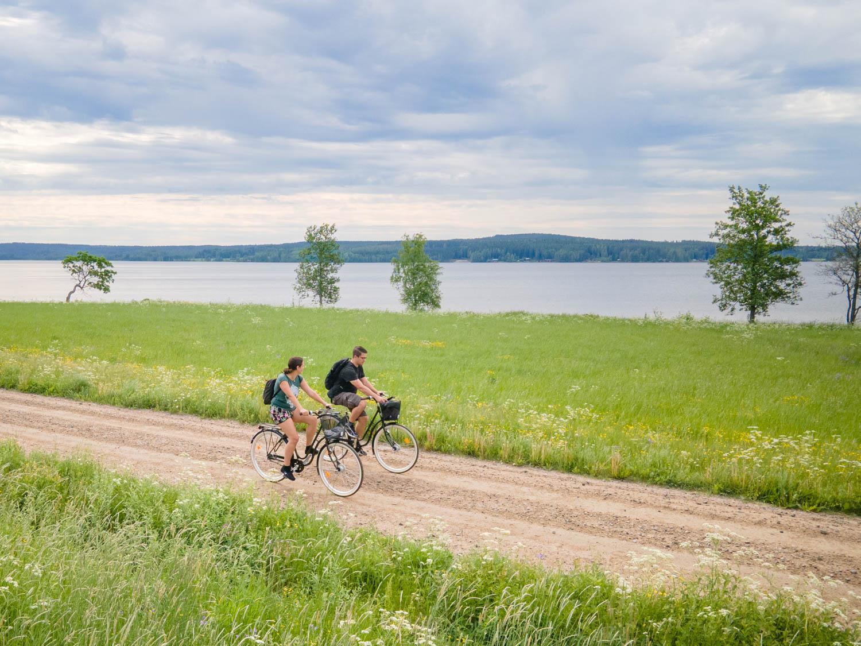 Stjarnsund to Langshyttan by bike